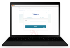 Sign Up Modal - Sign In
